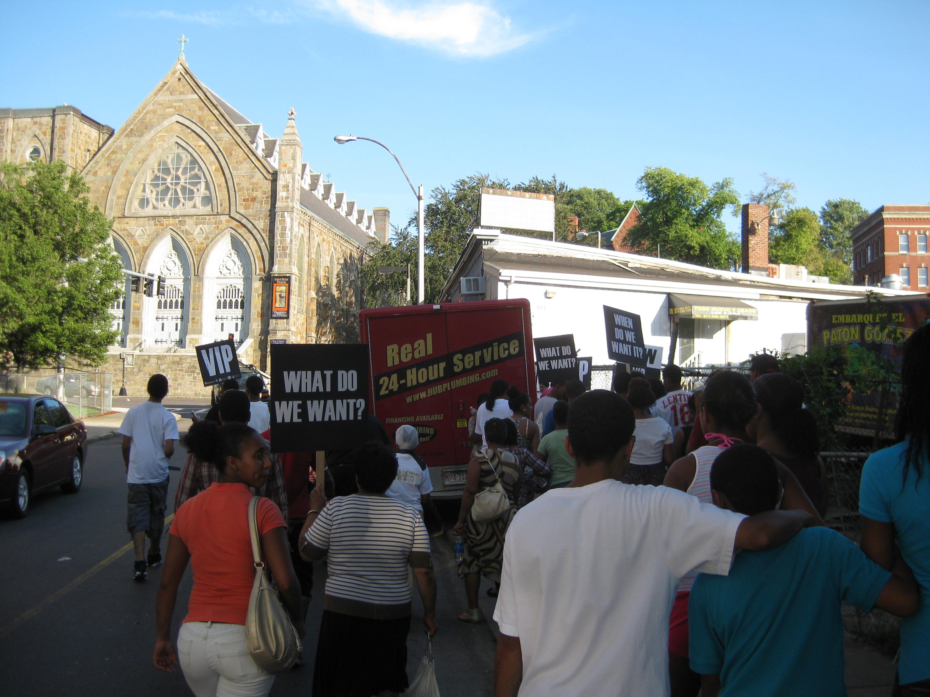 Bowdoin & Geneva Community Walk - July 22d
